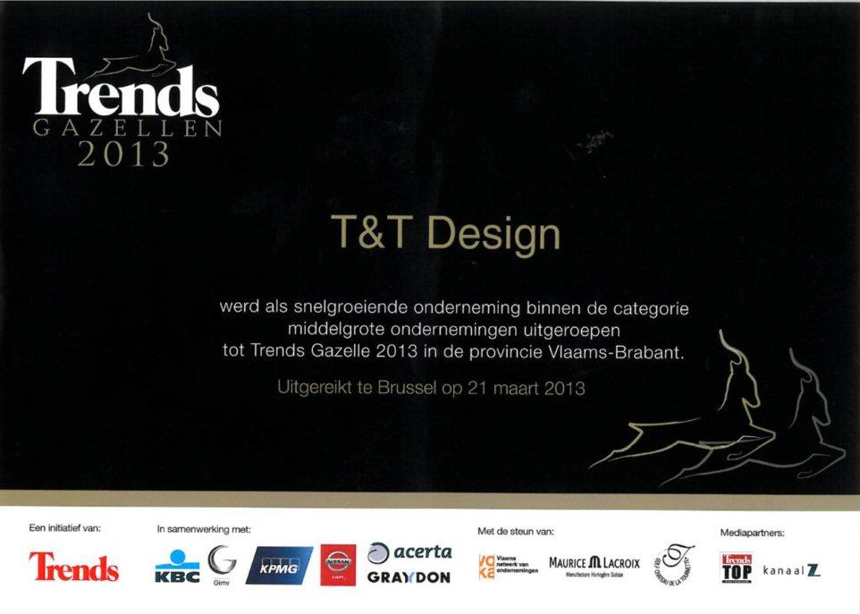 Trends Gazelle 2013 - T&T design